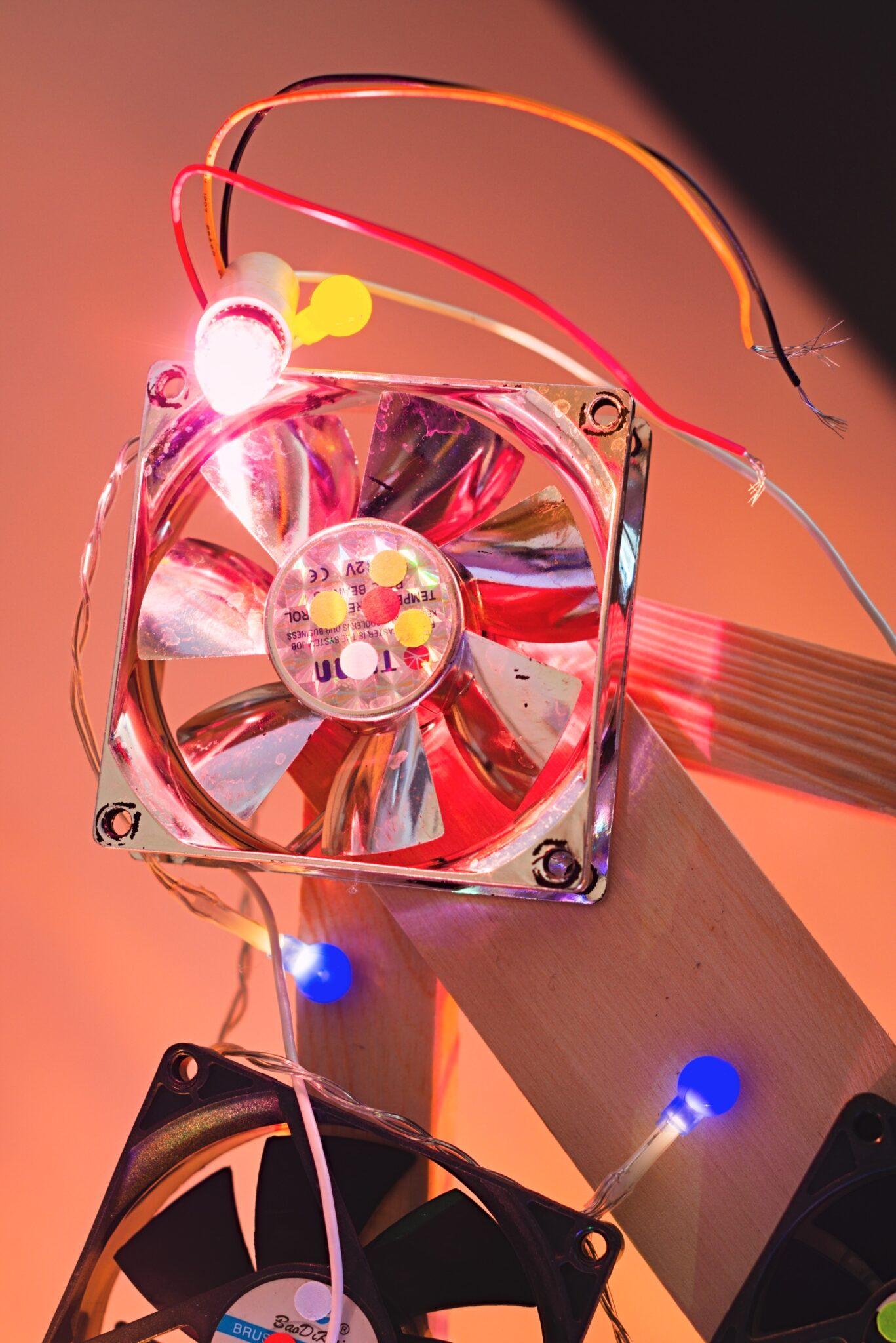 Kompiuterių ventiliatoriai - Vilmantas Ramonas