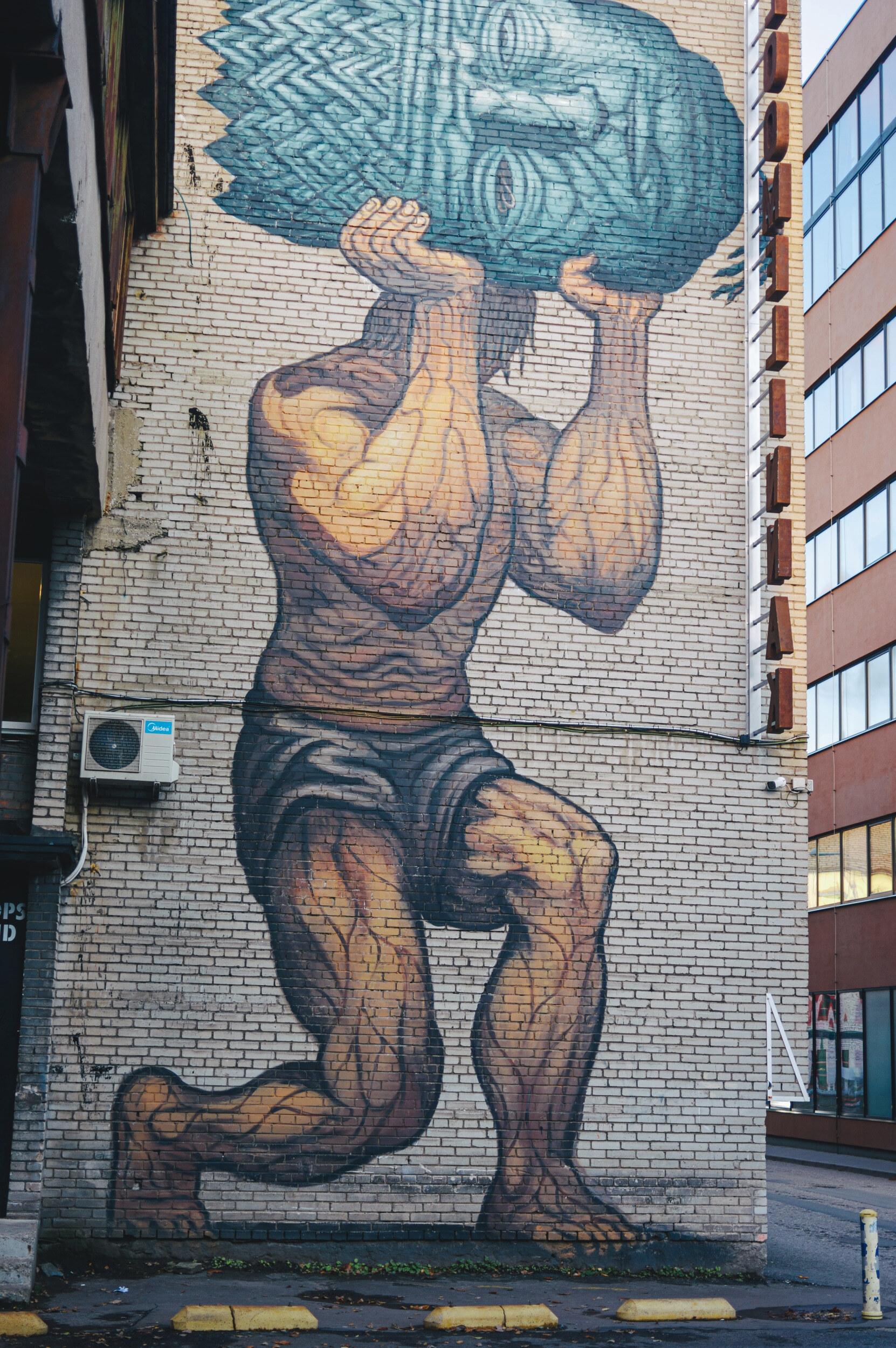 Gatvės menas Taline - Vilmantas Ramonas