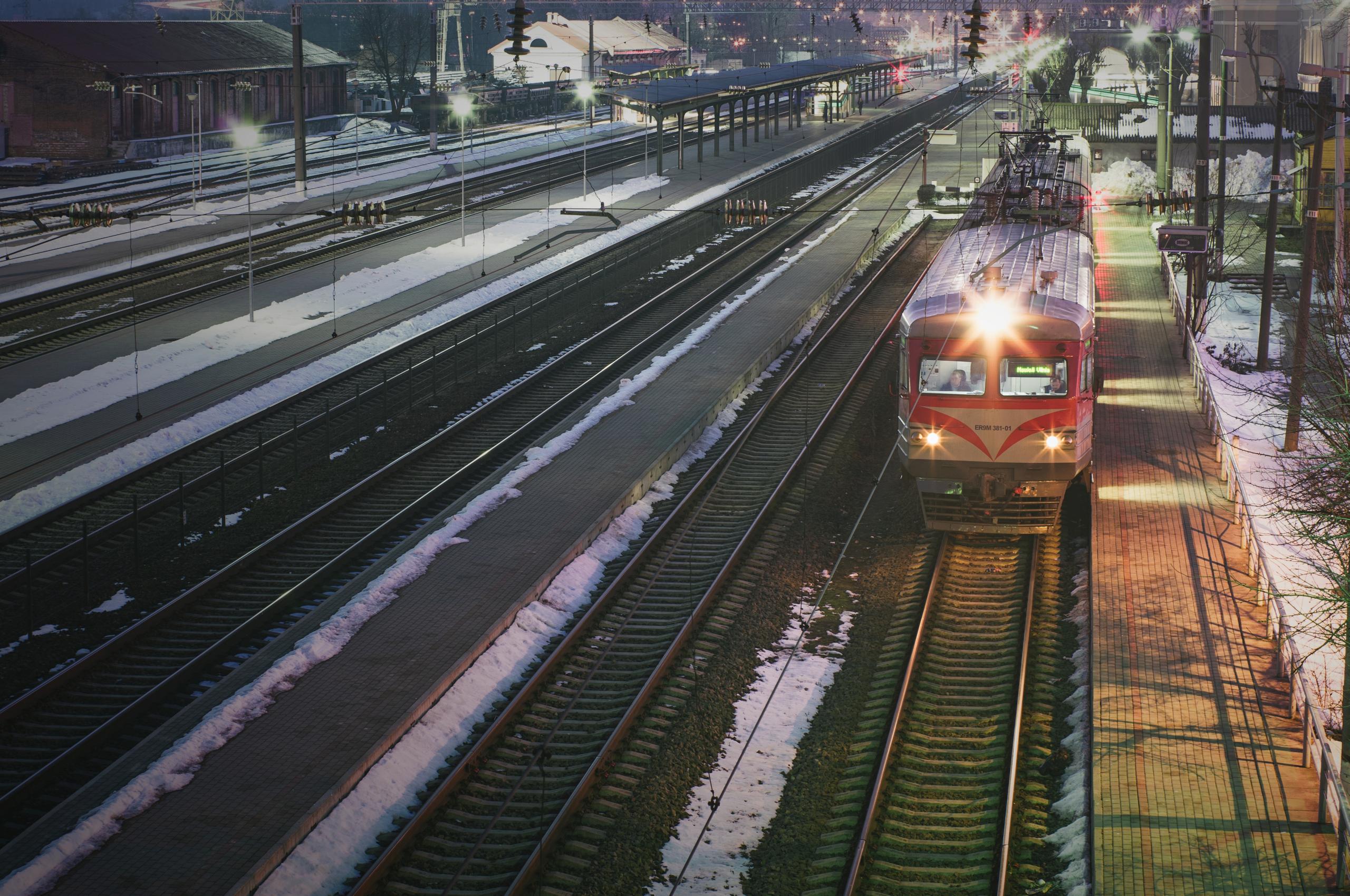 Traukinys Kauno traukinių stotyje - Vilmantas Ramonas